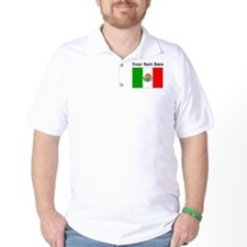 Custom Mexico Flag T-Shirt