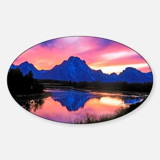 Grand Teton Range Decal