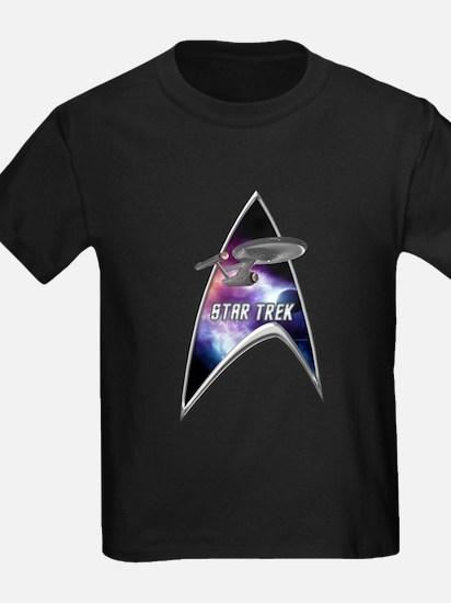 StarTrek Command Silver Signia Enterprise old T-Sh