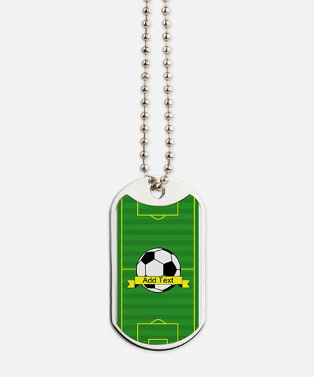 Soccer Dog Tags