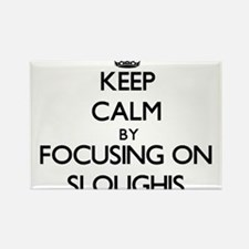 Keep calm by focusing on Sloughis Magnets