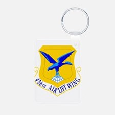 USAF Air Force 436th Airlift Wing Keychains