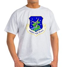 USAF Air Force 91st Missile Wing Shield T-Shirt