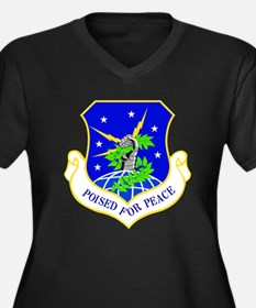 USAF Air Force 91st Missile Wing Plus Size T-Shirt