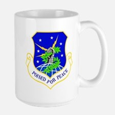 USAF Air Force 91st Missile Wing Shield Mugs