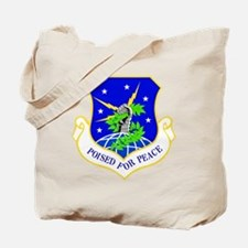 USAF Air Force 91st Missile Wing Shield Tote Bag