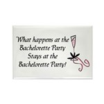 Bachelorette party Rectangle Magnet (100 pack)