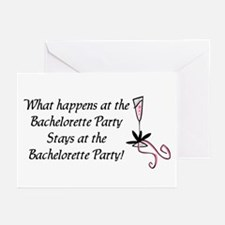 Bachelorette party Greeting Cards (Pk of 10)