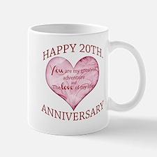 20th. Anniversary Mug