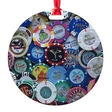 Martini Chip Poster Ornament