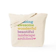 Landscape Architect Tote Bag