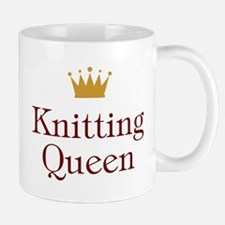 QueenKnitting.jpg Mugs