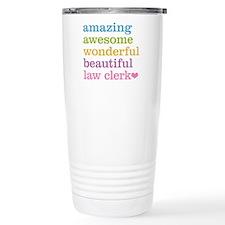 Law Clerk Thermos Mug