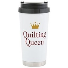 QueenQuilting.jpg Travel Mug