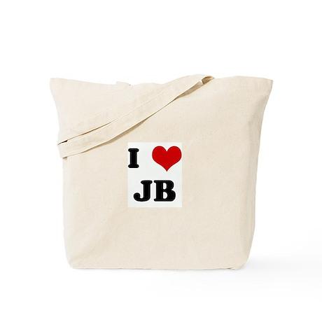 I Love JB Tote Bag