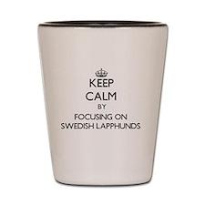 Keep calm by focusing on Swedish Lapphu Shot Glass