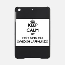 Keep calm by focusing on Swedish La iPad Mini Case