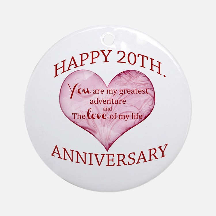 What Is The Gift For 20th Wedding Anniversary: Happy 20Th Anniversary Gifts For Happy 20th Anniversary