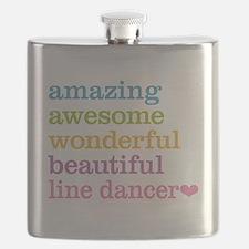 Line Dancer Flask
