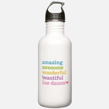 Line Dancer Water Bottle