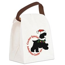 Christmas Logo Canvas Lunch Bag