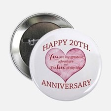 "20th. Anniversary 2.25"" Button"