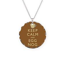 Keep Calm And Egg Nog Necklace