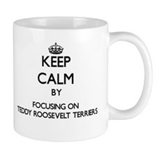 Keep calm by focusing on Teddy Roosevelt Terr Mugs