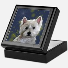 Unique Terrier Keepsake Box