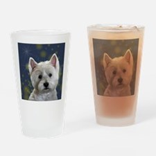 Cute Holiday pets Drinking Glass