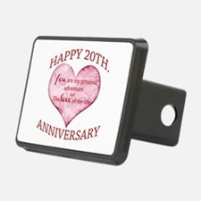 20th. Anniversary Hitch Cover