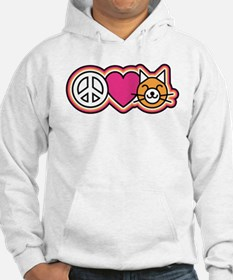 Peace-Love-Pussycats Hoodie