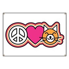 Peace-Love-Pussycats Banner