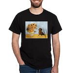 Sunflowres / Dachshund Dark T-Shirt