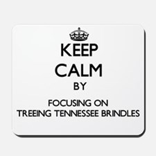Keep calm by focusing on Treeing Tenness Mousepad
