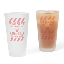 Go Mama Bear Drinking Glass
