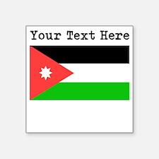 Custom Jordan Flag Sticker