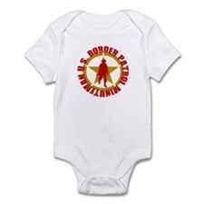 U.S. BORDER PATROL SHIRT MINU Infant Bodysuit