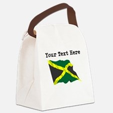 Custom Jamaica Flag Canvas Lunch Bag