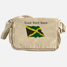 Custom Jamaica Flag Messenger Bag