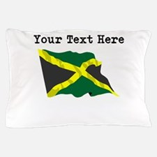 Custom Jamaica Flag Pillow Case