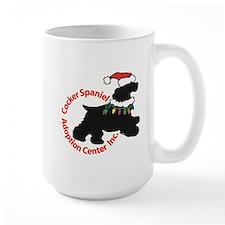 Csac Christmas Logo Mugs