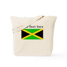 Custom Jamaica Flag Tote Bag