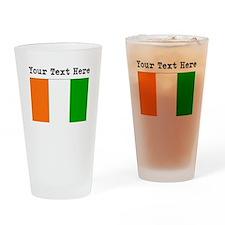 Custom Ivory Coast Flag Drinking Glass