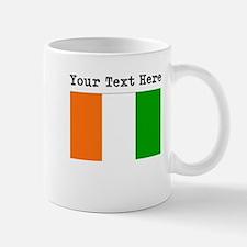 Custom Ivory Coast Flag Mugs