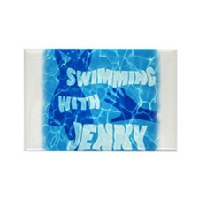 Swimming with Jenny Magnets