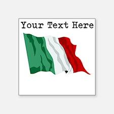 Custom Italy Flag Sticker