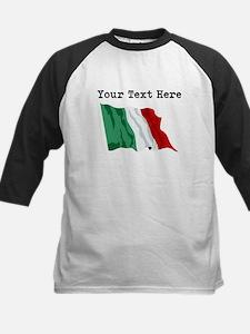 Custom Italy Flag Baseball Jersey