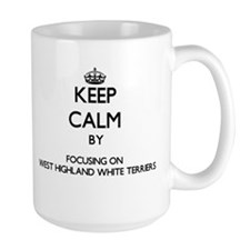 Keep calm by focusing on West Highland White Mugs
