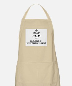 Keep calm by focusing on West Siberian Laika Apron